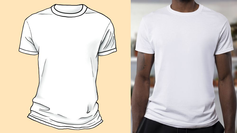 T-shirt practice - image 2 - student project