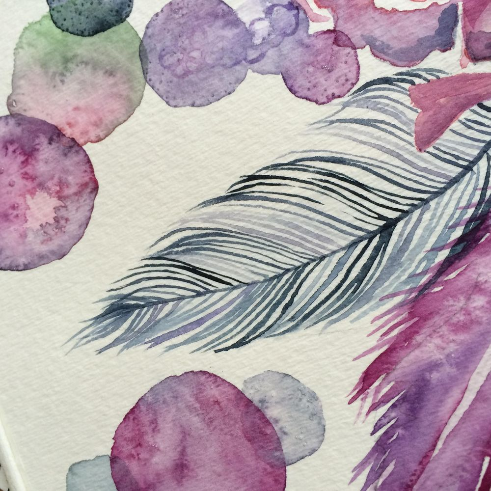 Watercolor Exploration - image 8 - student project