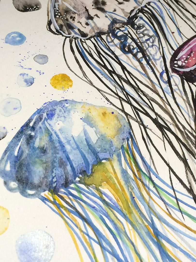 Watercolor Exploration - image 6 - student project