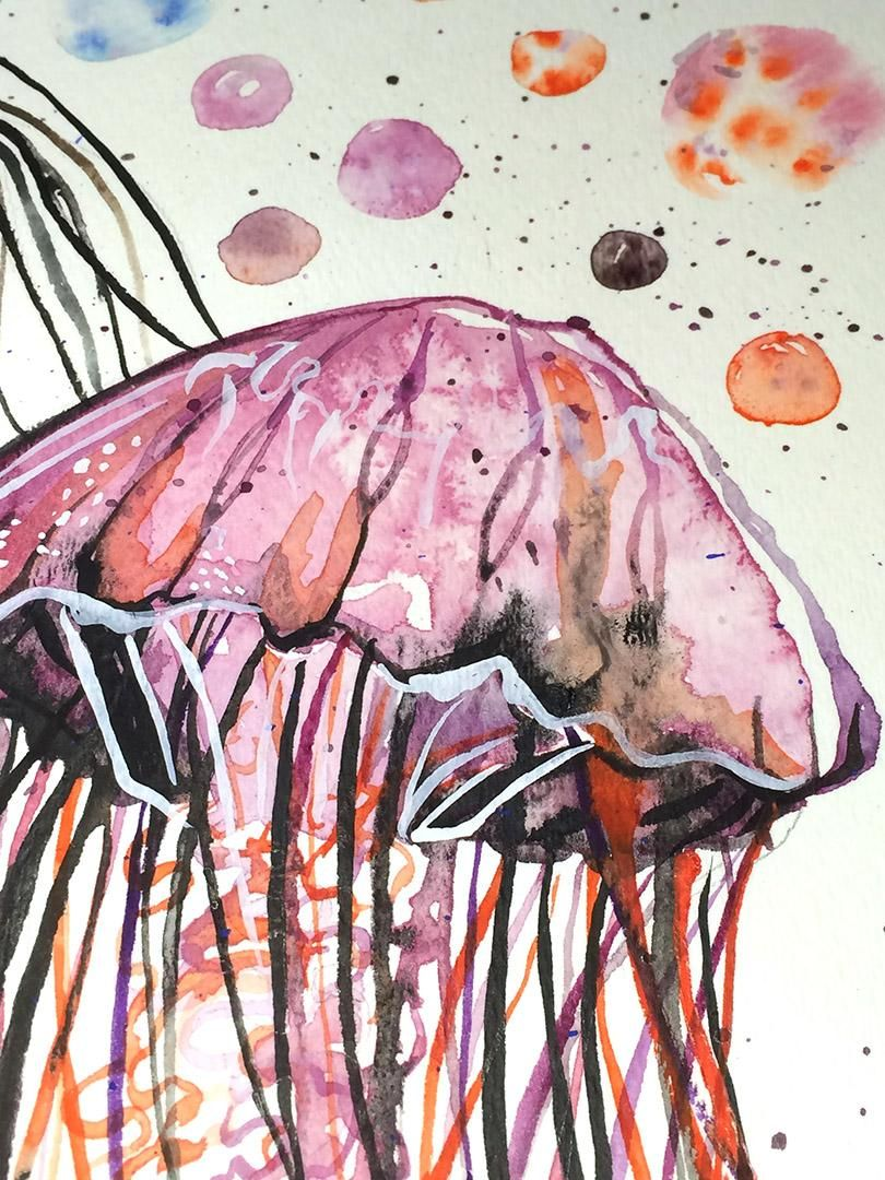 Watercolor Exploration - image 7 - student project