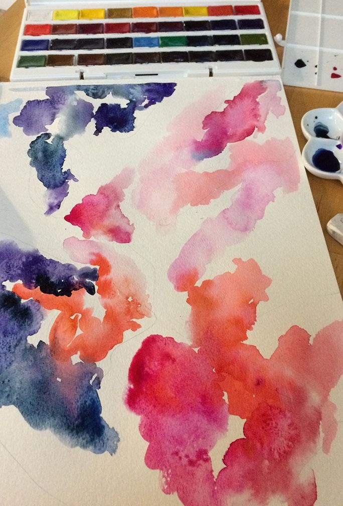 Watercolor Exploration - image 10 - student project