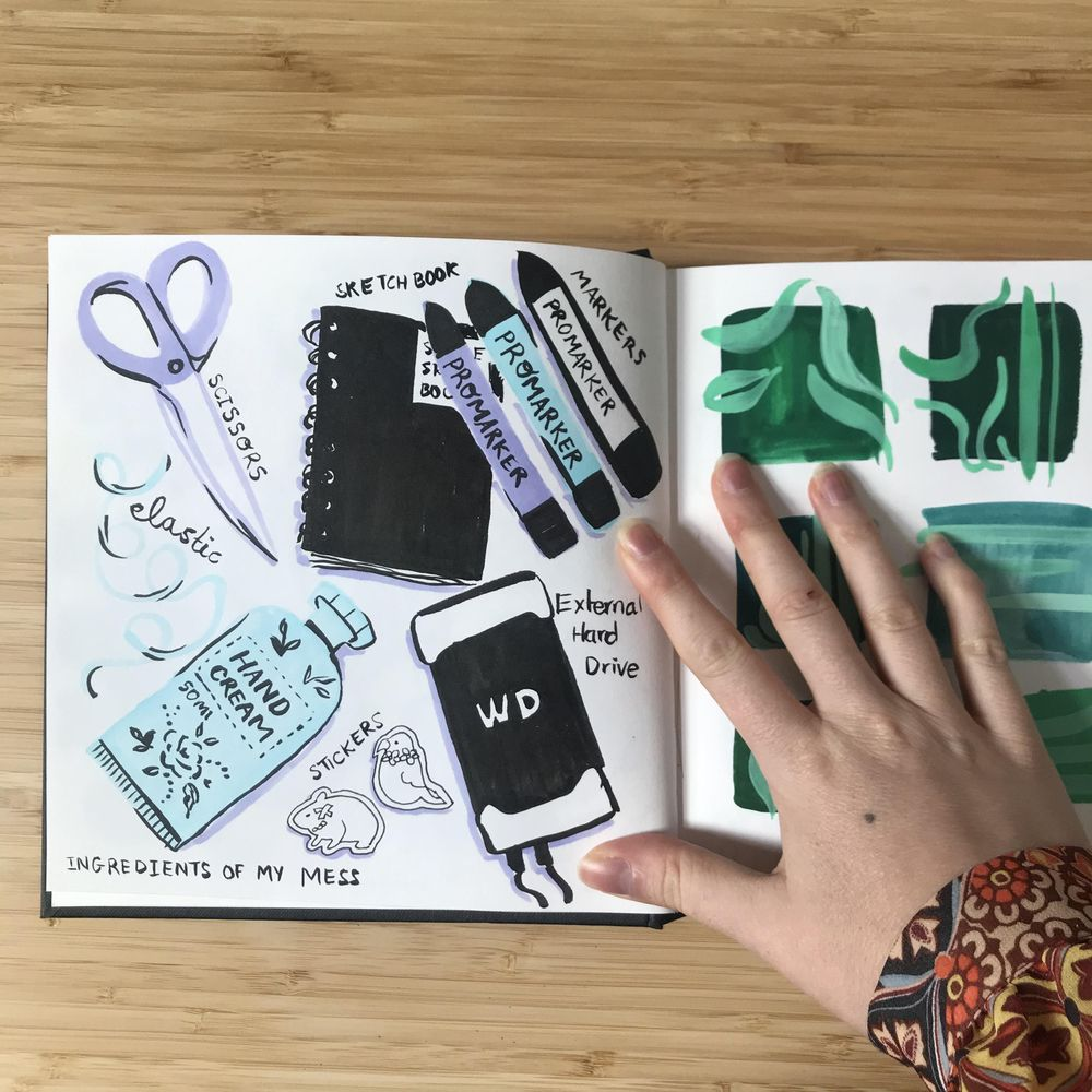 Illustrated Journaling - image 4 - student project