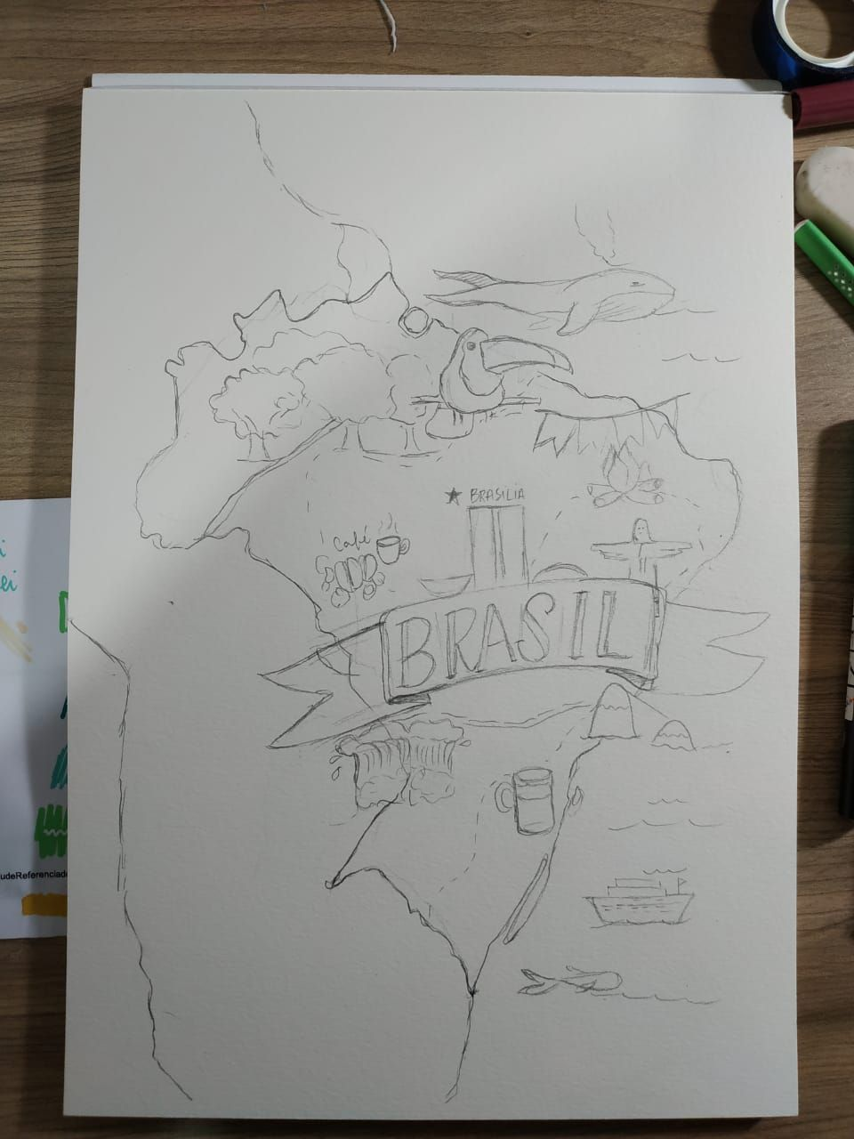 Brazil map - image 1 - student project