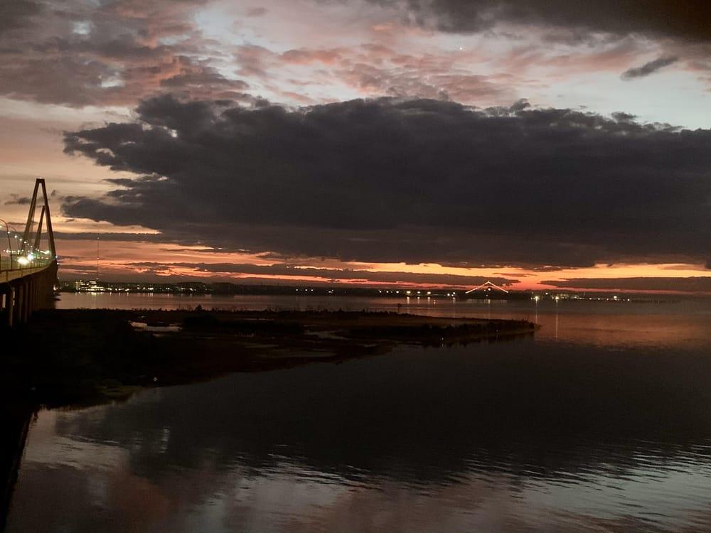 6:38 A.M. December 2020 Ravenel Bridge, Charleston, SC - image 1 - student project