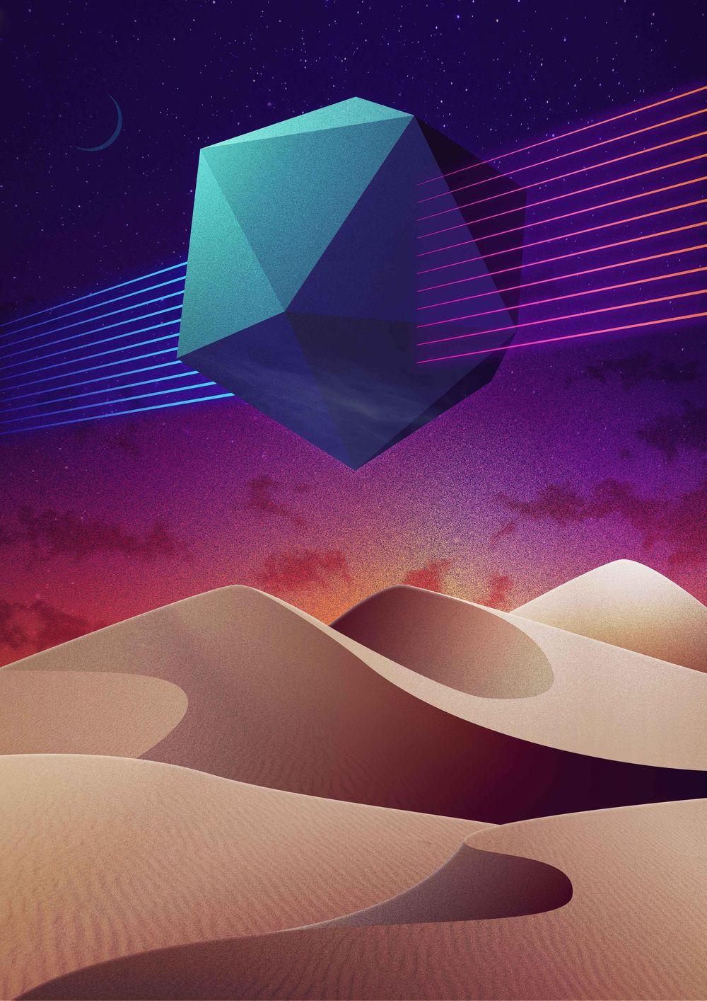 Sparkling desert - image 1 - student project