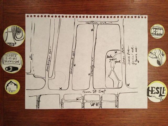 Leslieville Curiosities - a treasure map of hidden neighbourhood gems    - image 8 - student project