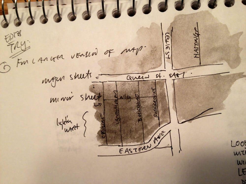 Leslieville Curiosities - a treasure map of hidden neighbourhood gems    - image 12 - student project