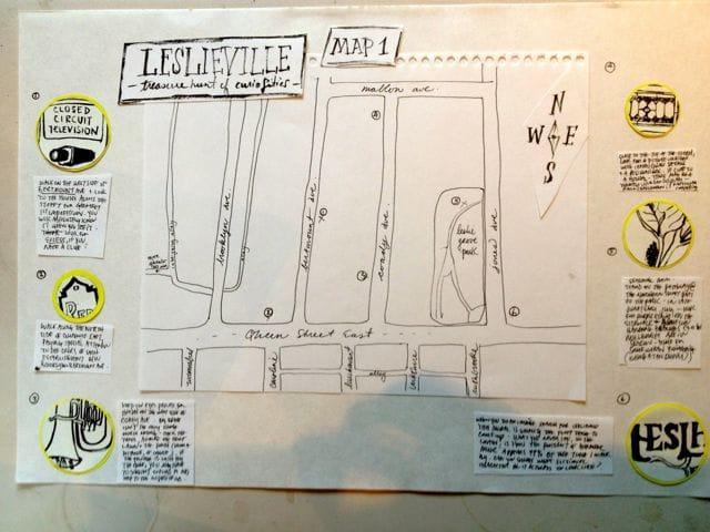Leslieville Curiosities - a treasure map of hidden neighbourhood gems    - image 9 - student project