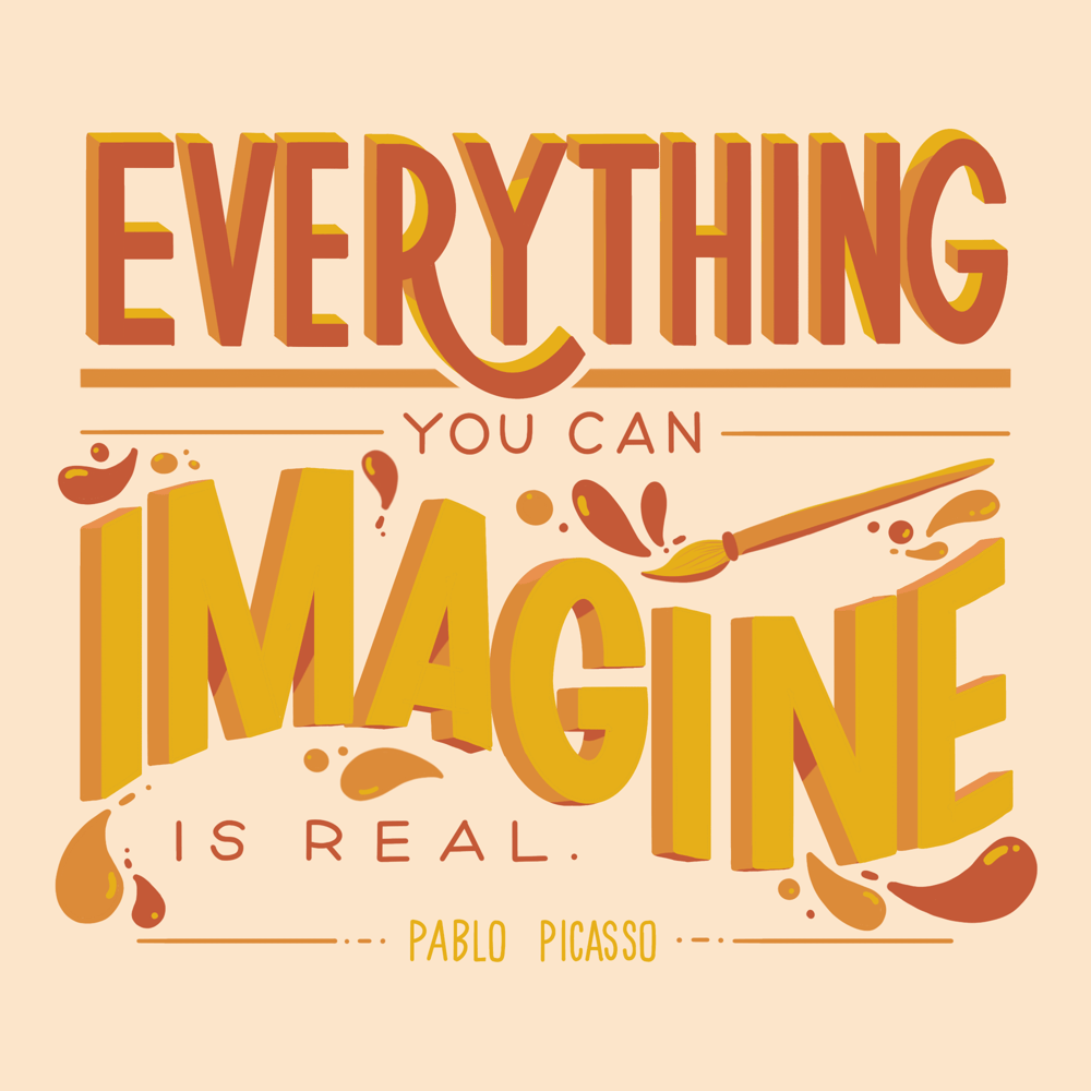 Everything you can imagine is real - Picasso - image 1 - student project