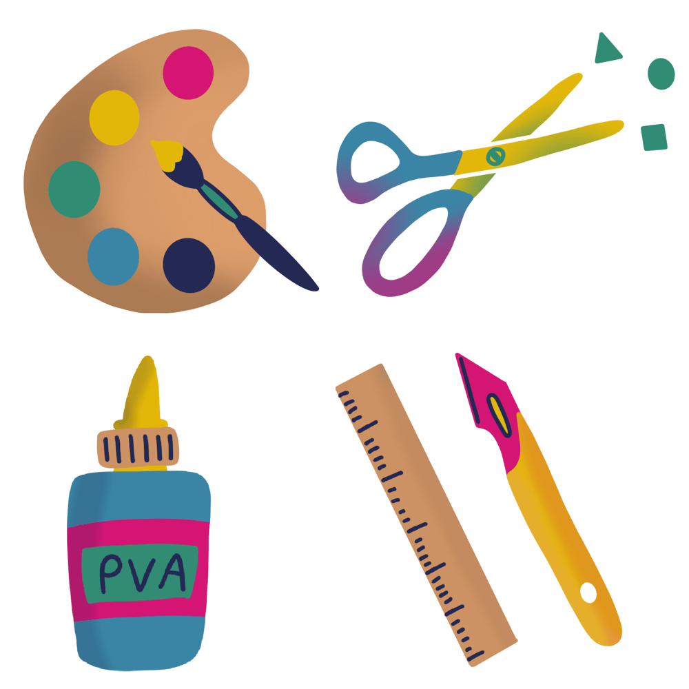 Craft supplies - image 1 - student project