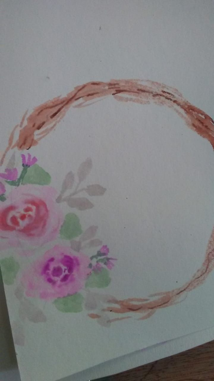 Loose florals watercolor with Supertips - image 2 - student project