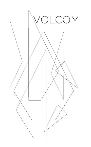 Volcom Shirt Sketch - image 1 - student project