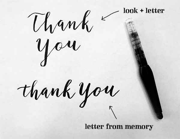 Sample Project: Thank You Card - image 2 - student project