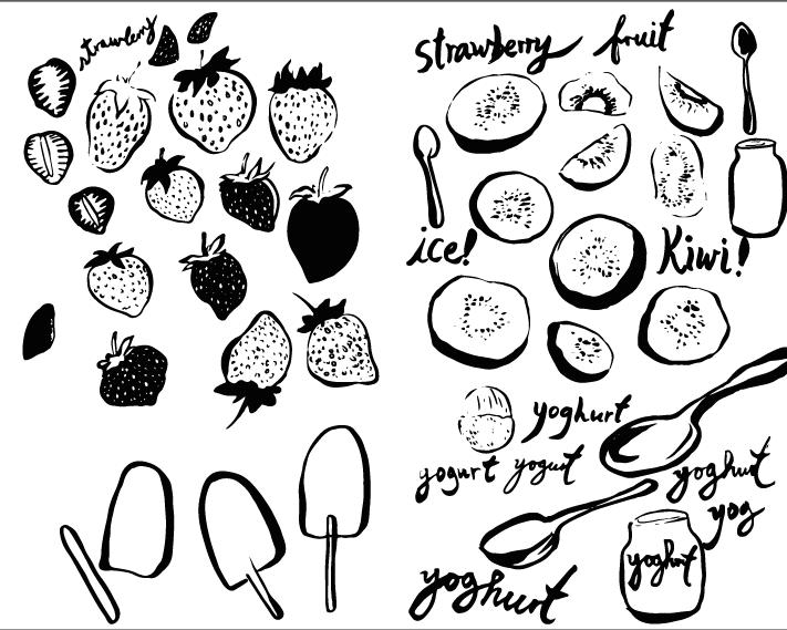 Yogurt fruity popsicles! - image 4 - student project