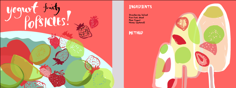 Yogurt fruity popsicles! - image 5 - student project
