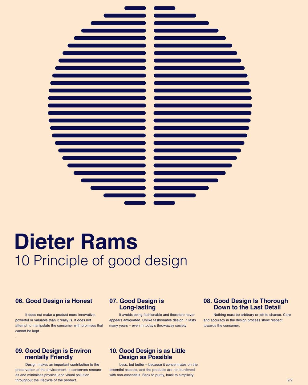 Rams and Vignellis Posters. - image 3 - student project