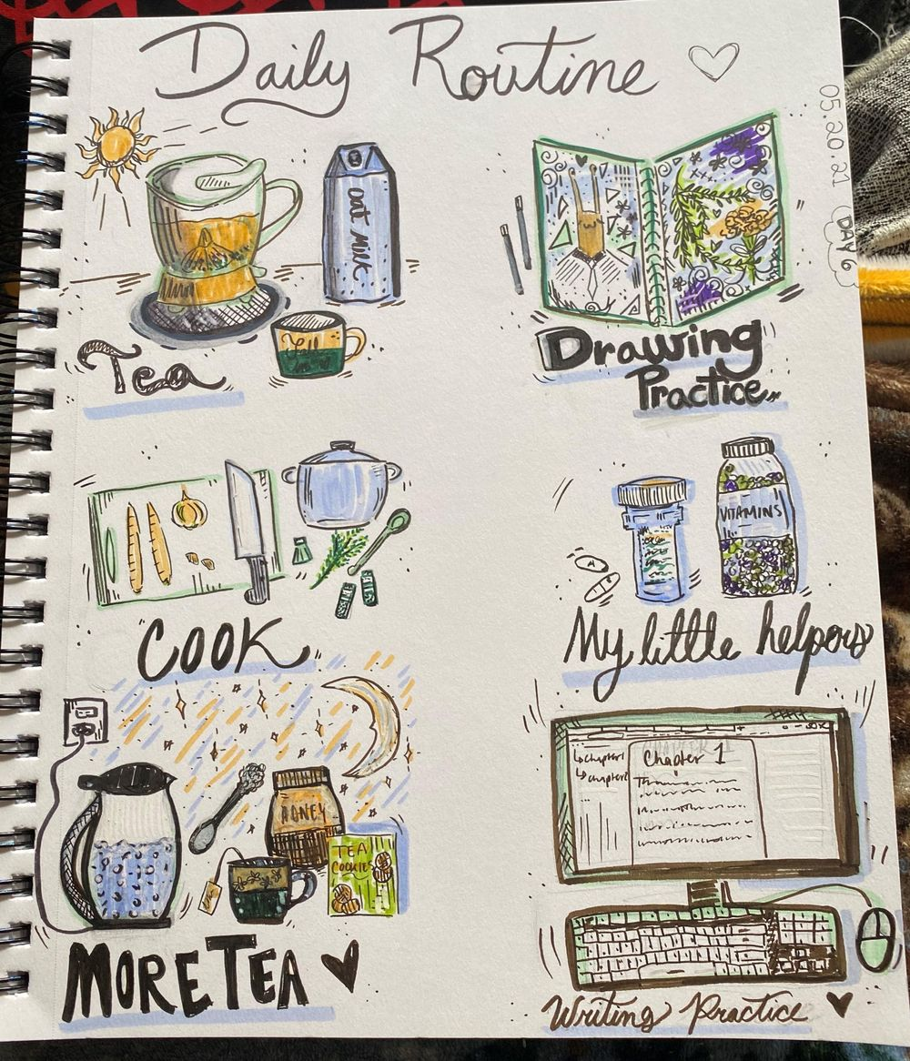 14 Days of Illustrated Journaling - image 9 - student project