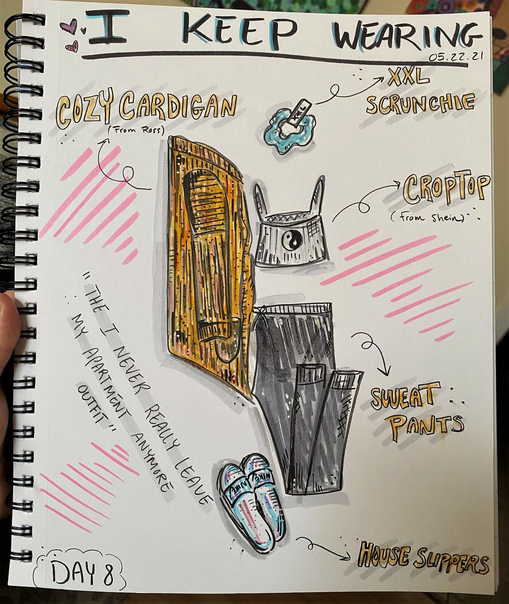14 Days of Illustrated Journaling - image 7 - student project