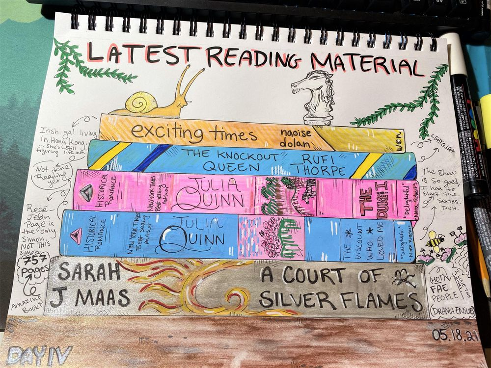 14 Days of Illustrated Journaling - image 11 - student project