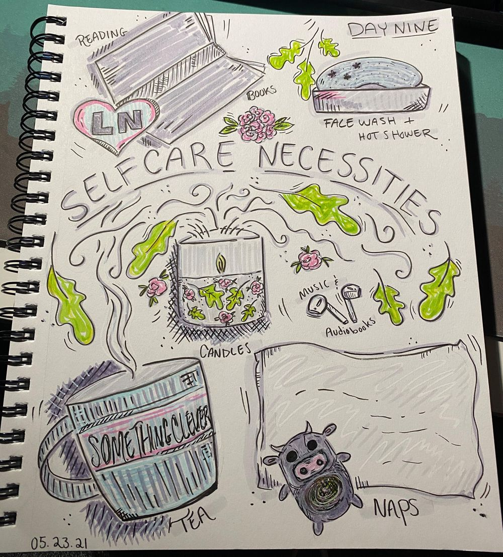 14 Days of Illustrated Journaling - image 6 - student project