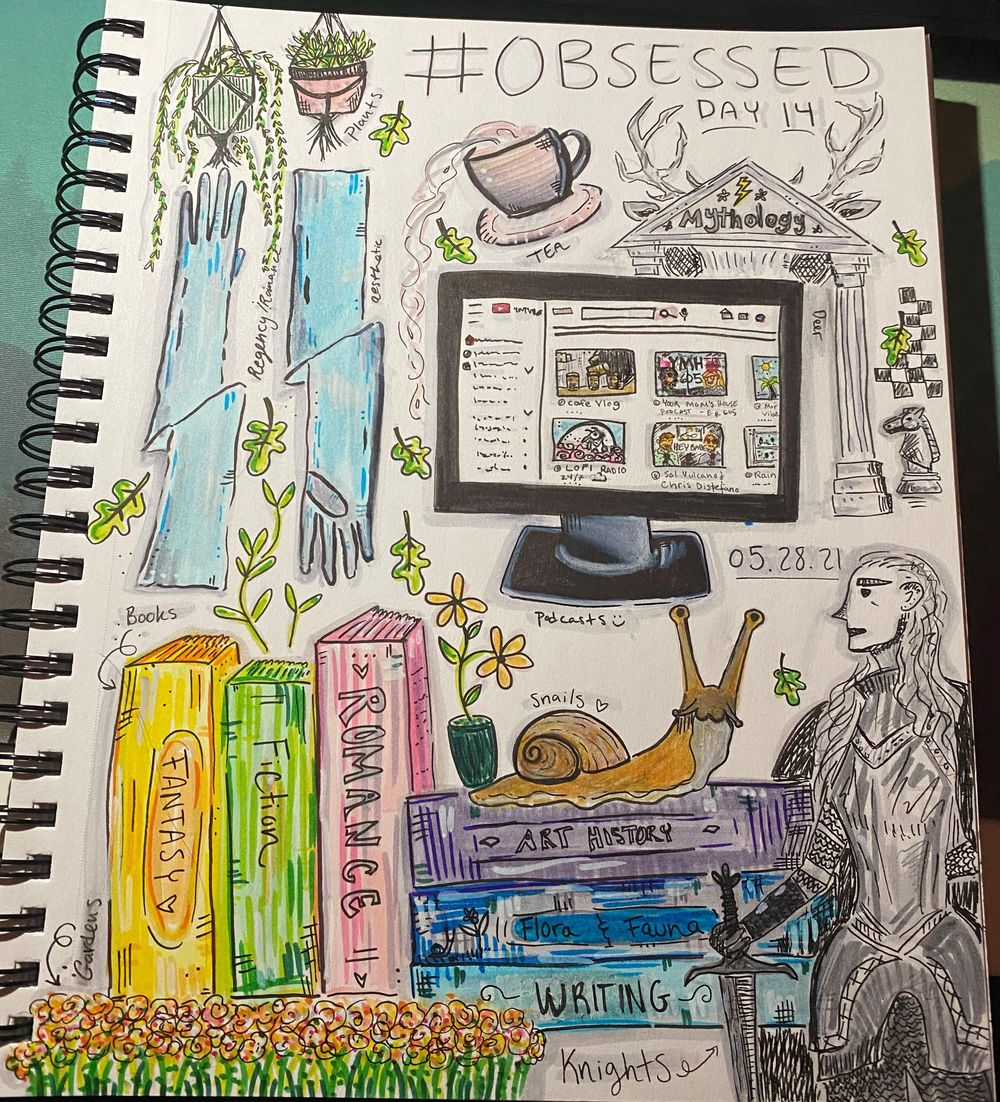 14 Days of Illustrated Journaling - image 1 - student project