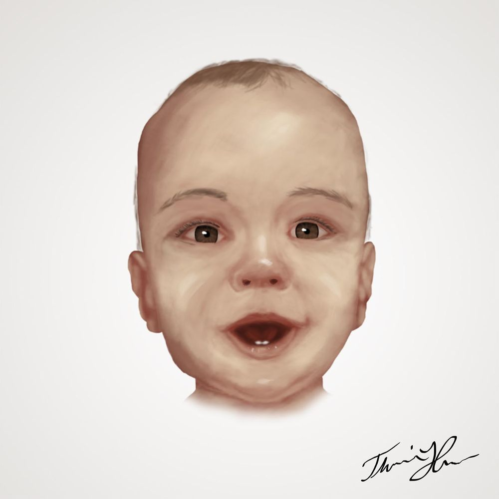 Baby face - image 1 - student project