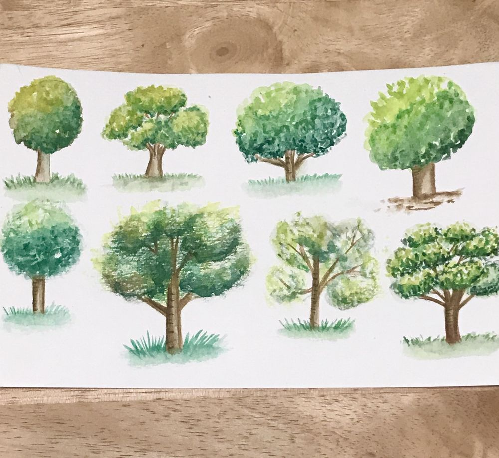Happy Trees - image 1 - student project
