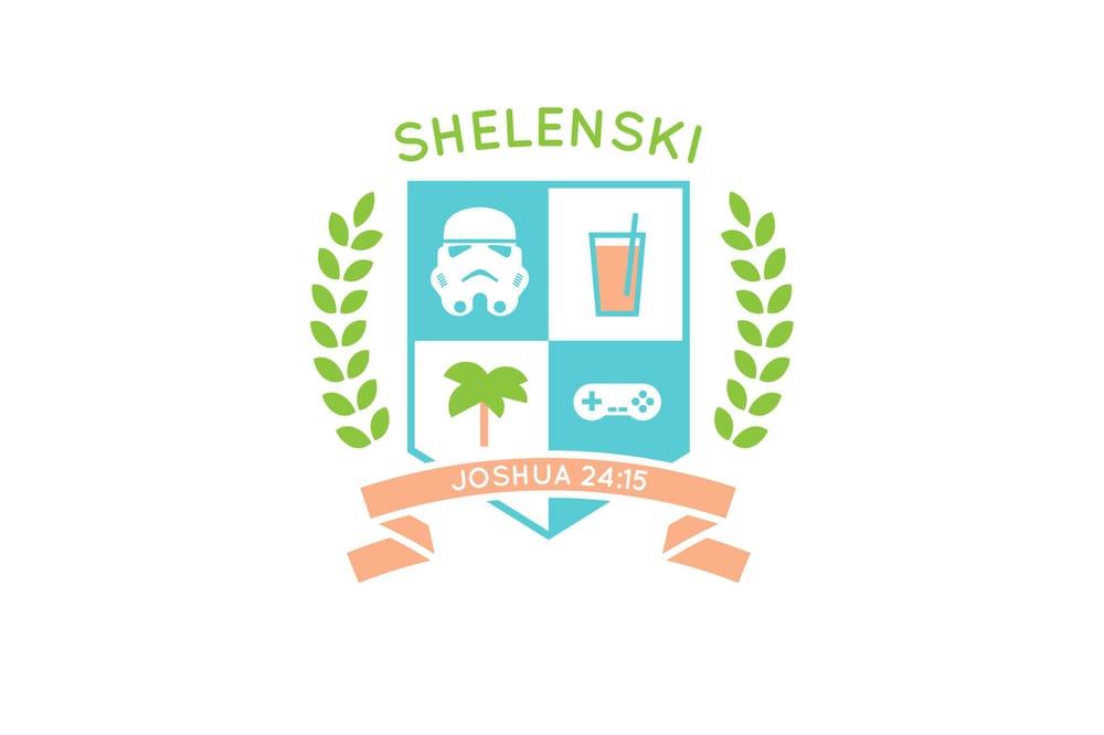 Shelenski Family Crest - image 2 - student project