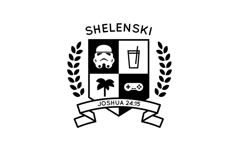 Shelenski Family Crest - image 1 - student project
