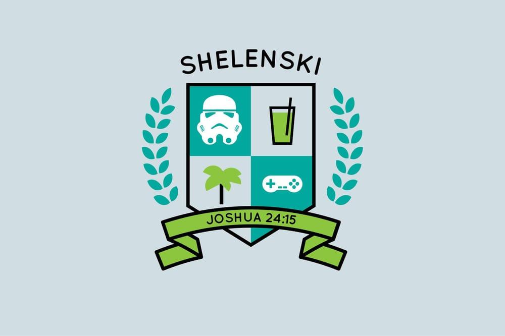 Shelenski Family Crest - image 3 - student project