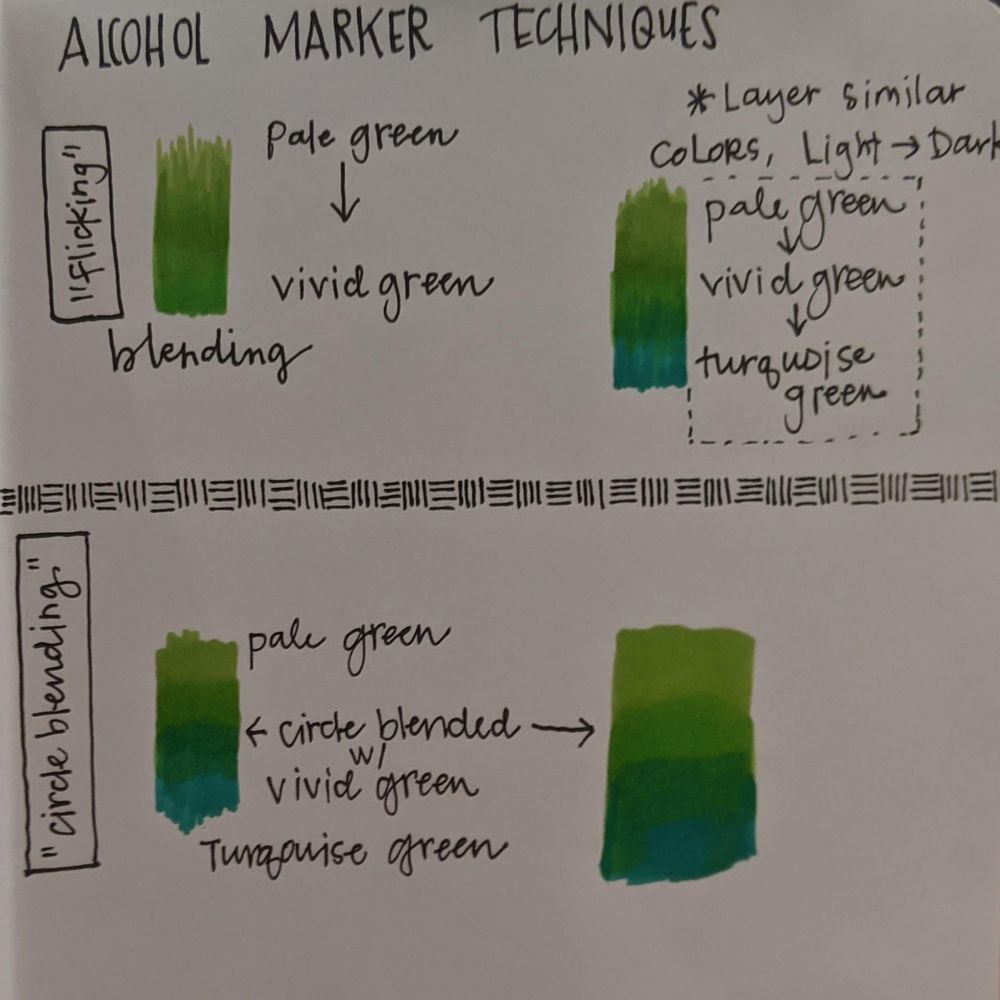 Alcohol Marker Rose - image 1 - student project