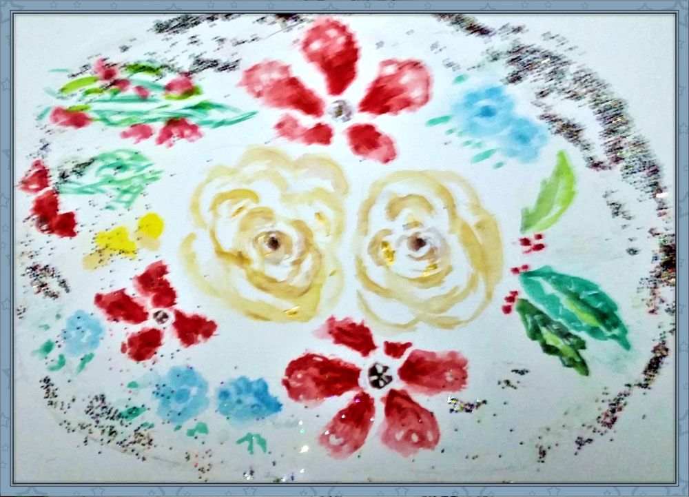 My Chistmas Watercolor Projects - image 1 - student project