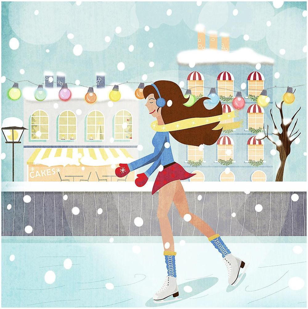 Ice Skating Girl - image 1 - student project