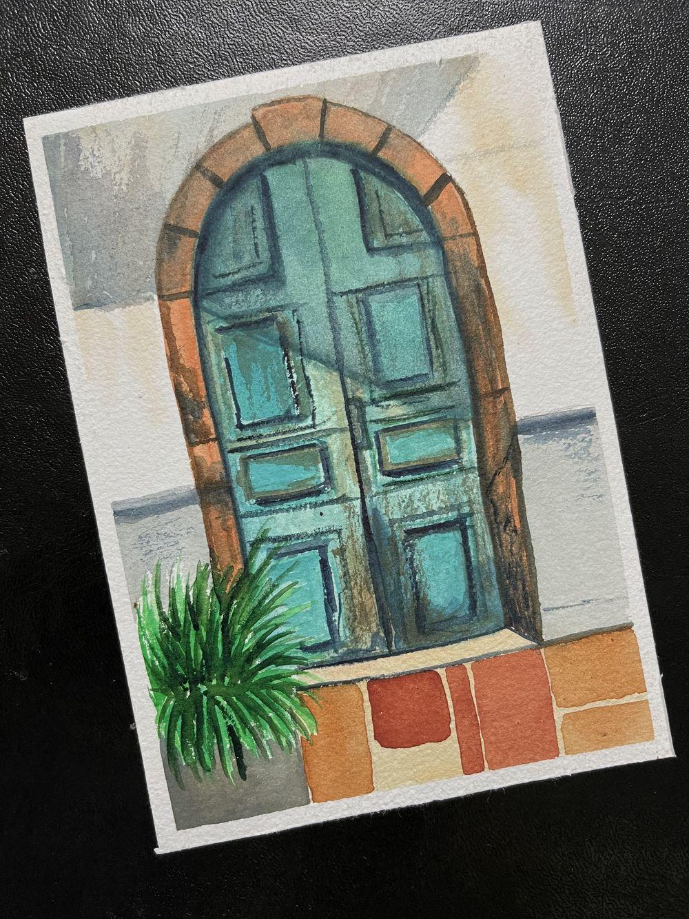 Watercolor postcards: Vinita - image 3 - student project