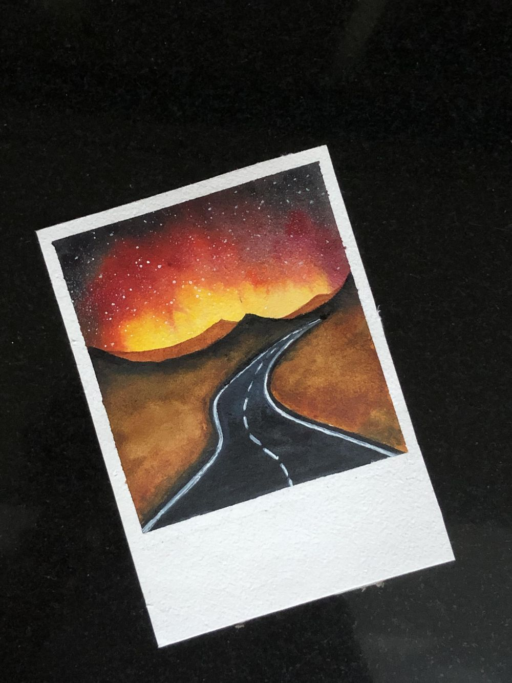 Fun and easy water color galaxies by Zaneena - image 1 - student project