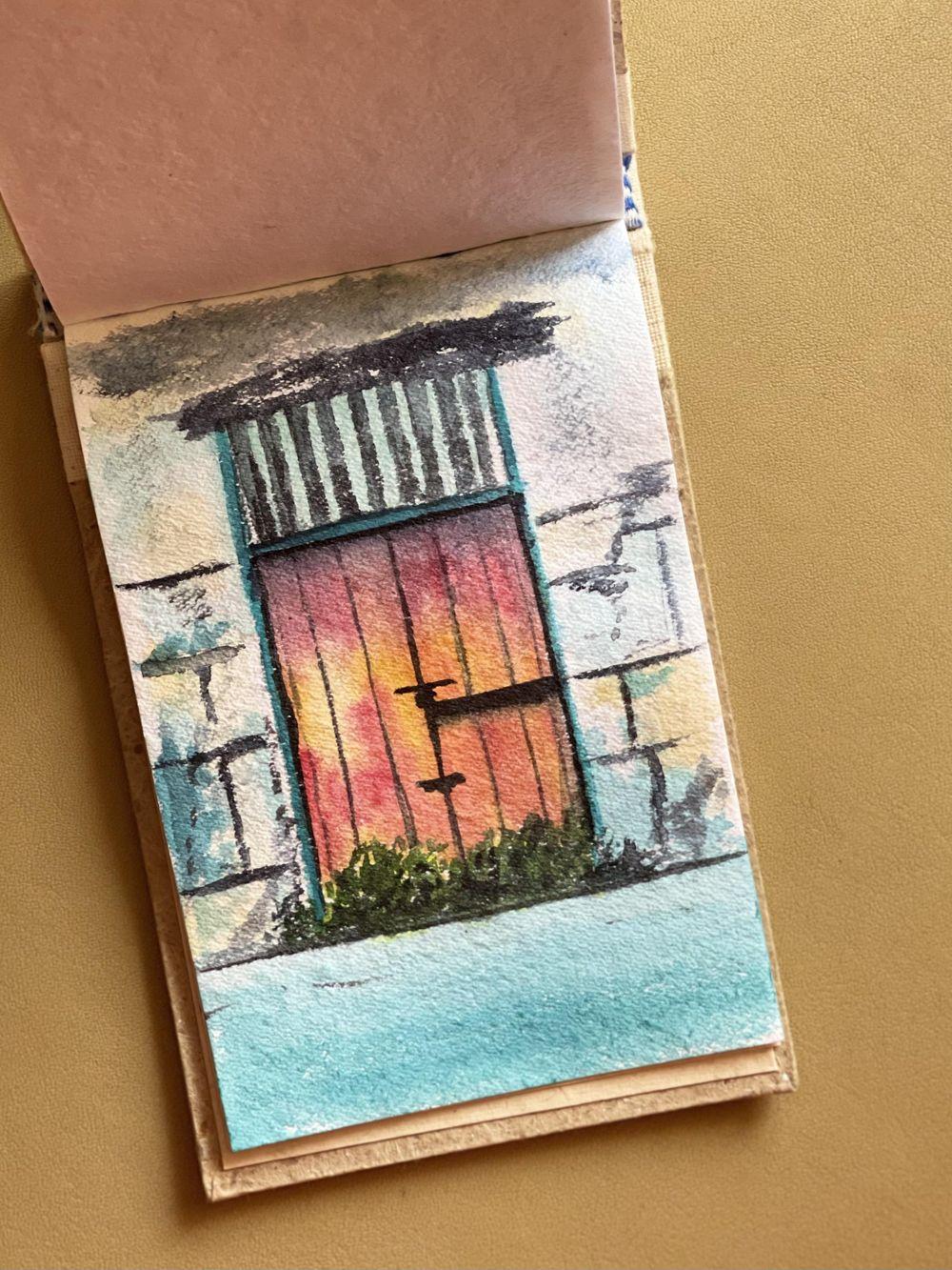 Watercolor postcards: Vinita - image 1 - student project