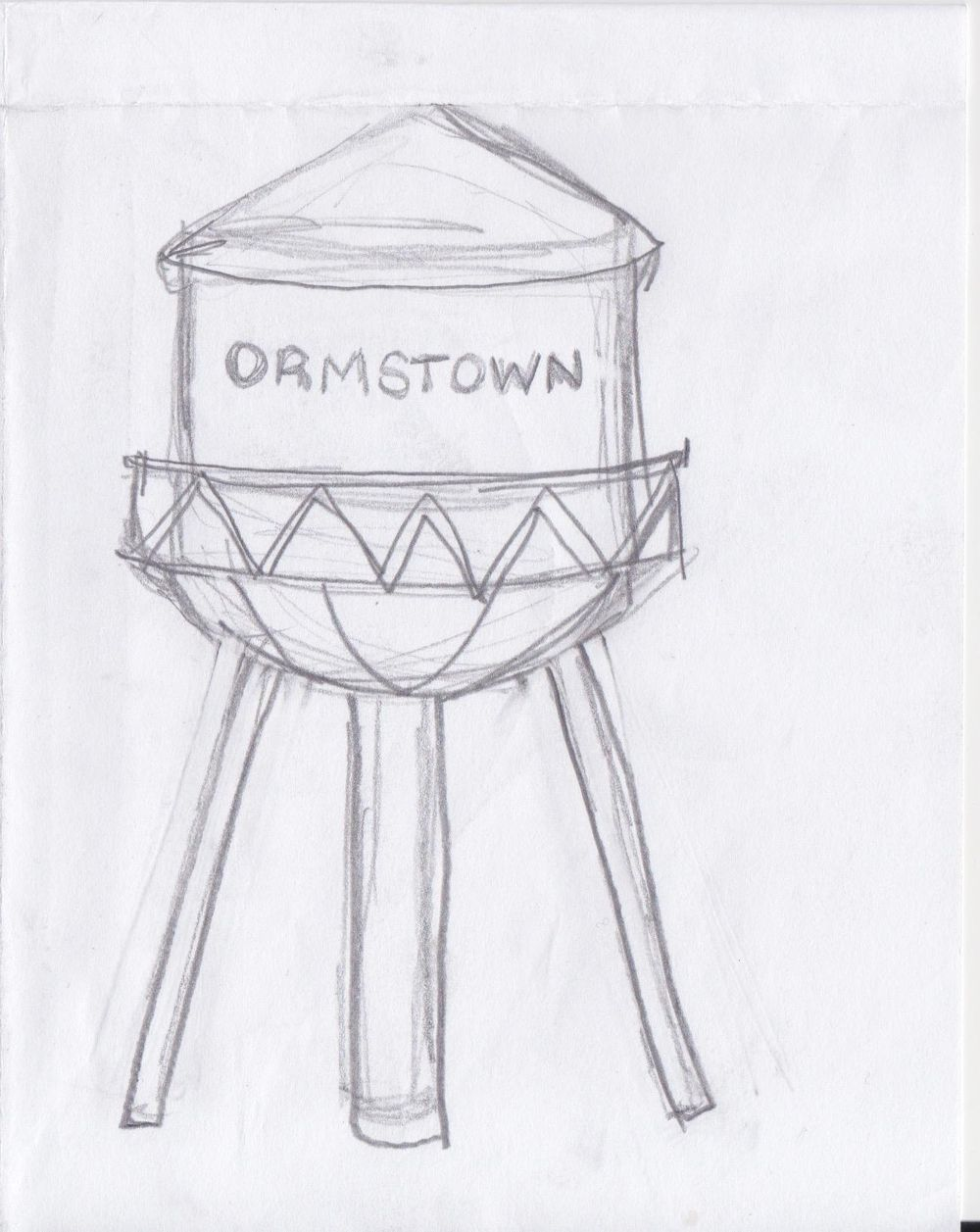 Inky Map - Ormstown, Quebec, Canada - image 3 - student project