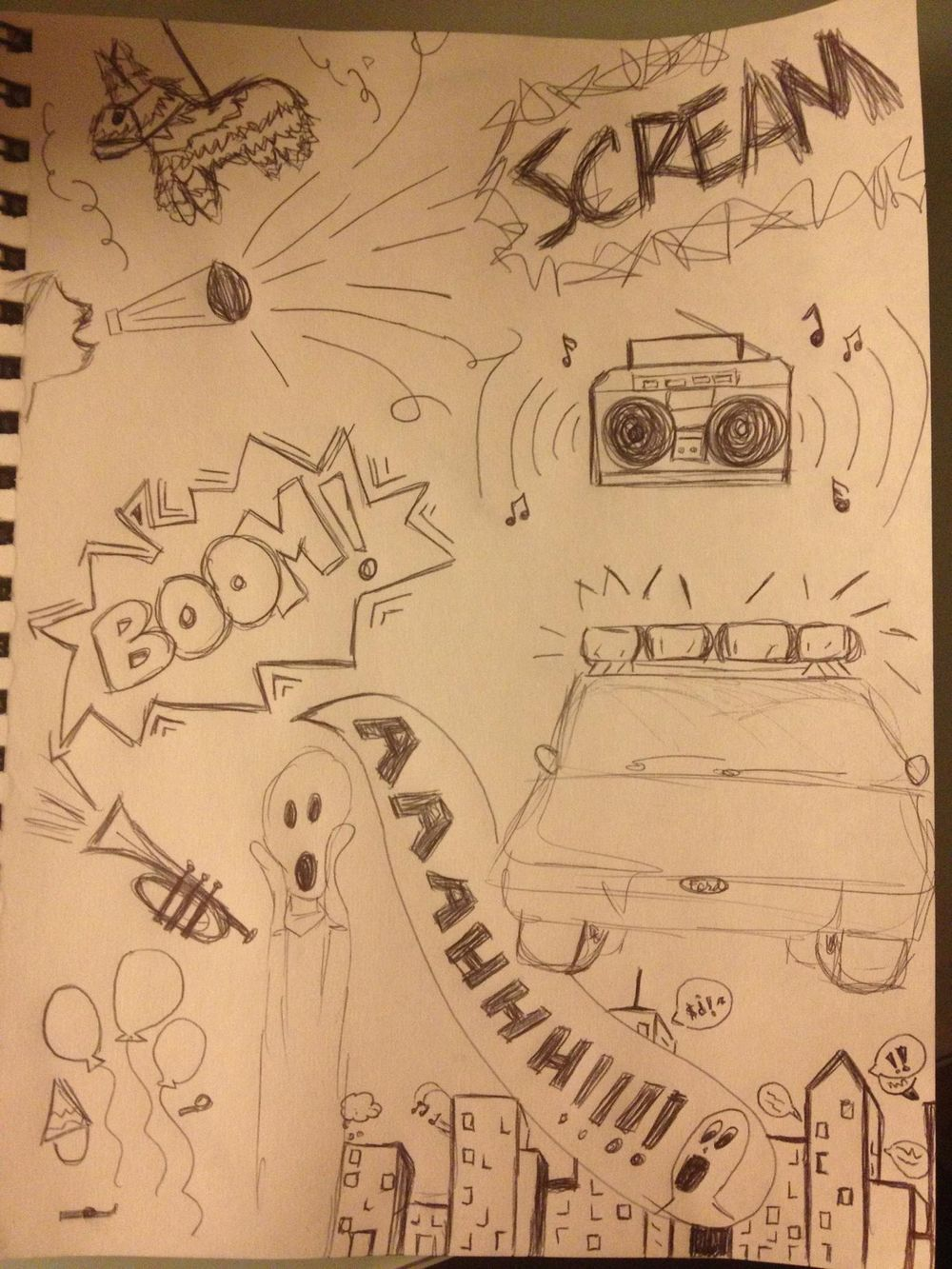 Call me LOUD sketch! - image 1 - student project