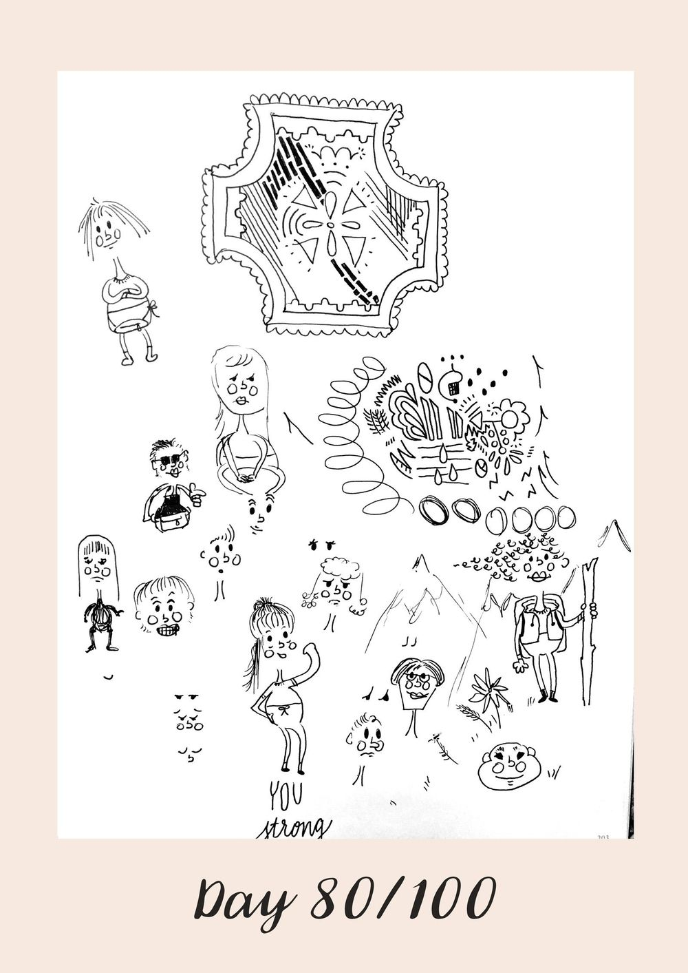 *COMPLETE* 100 Days of Sketching (Updated March 10th, Day 100/100) - image 95 - student project
