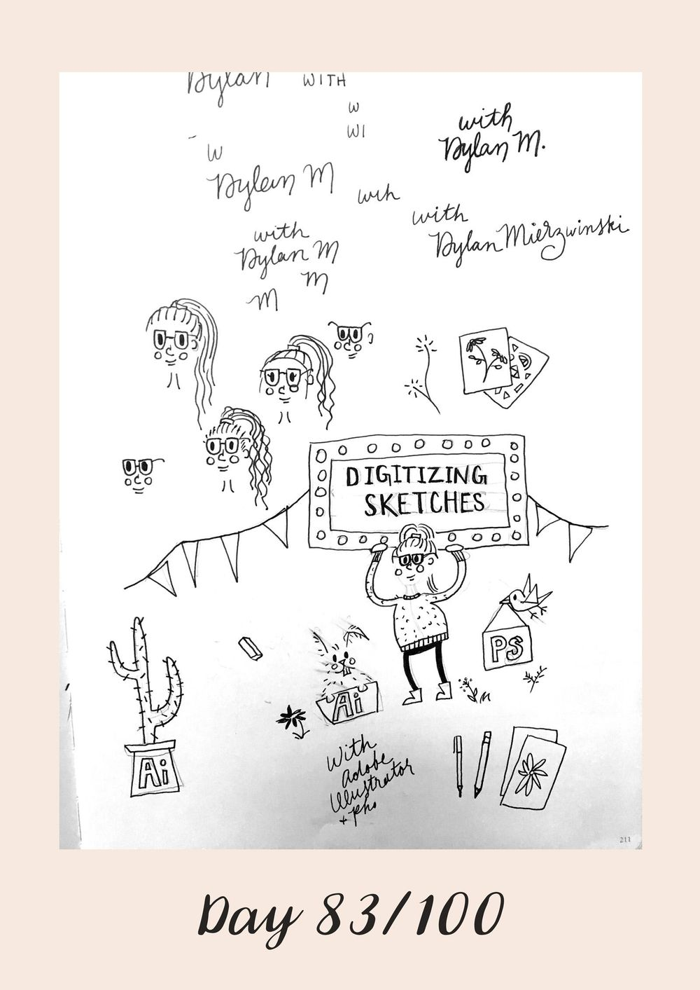 *COMPLETE* 100 Days of Sketching (Updated March 10th, Day 100/100) - image 98 - student project