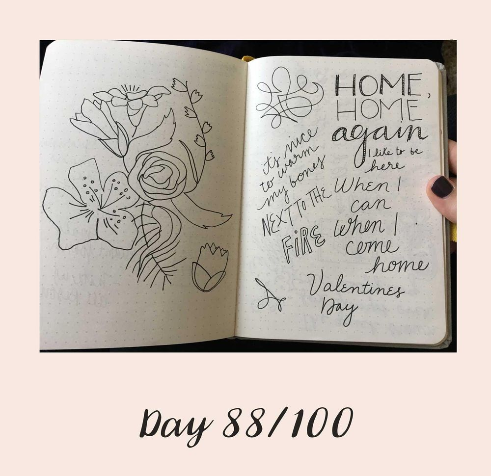 *COMPLETE* 100 Days of Sketching (Updated March 10th, Day 100/100) - image 104 - student project