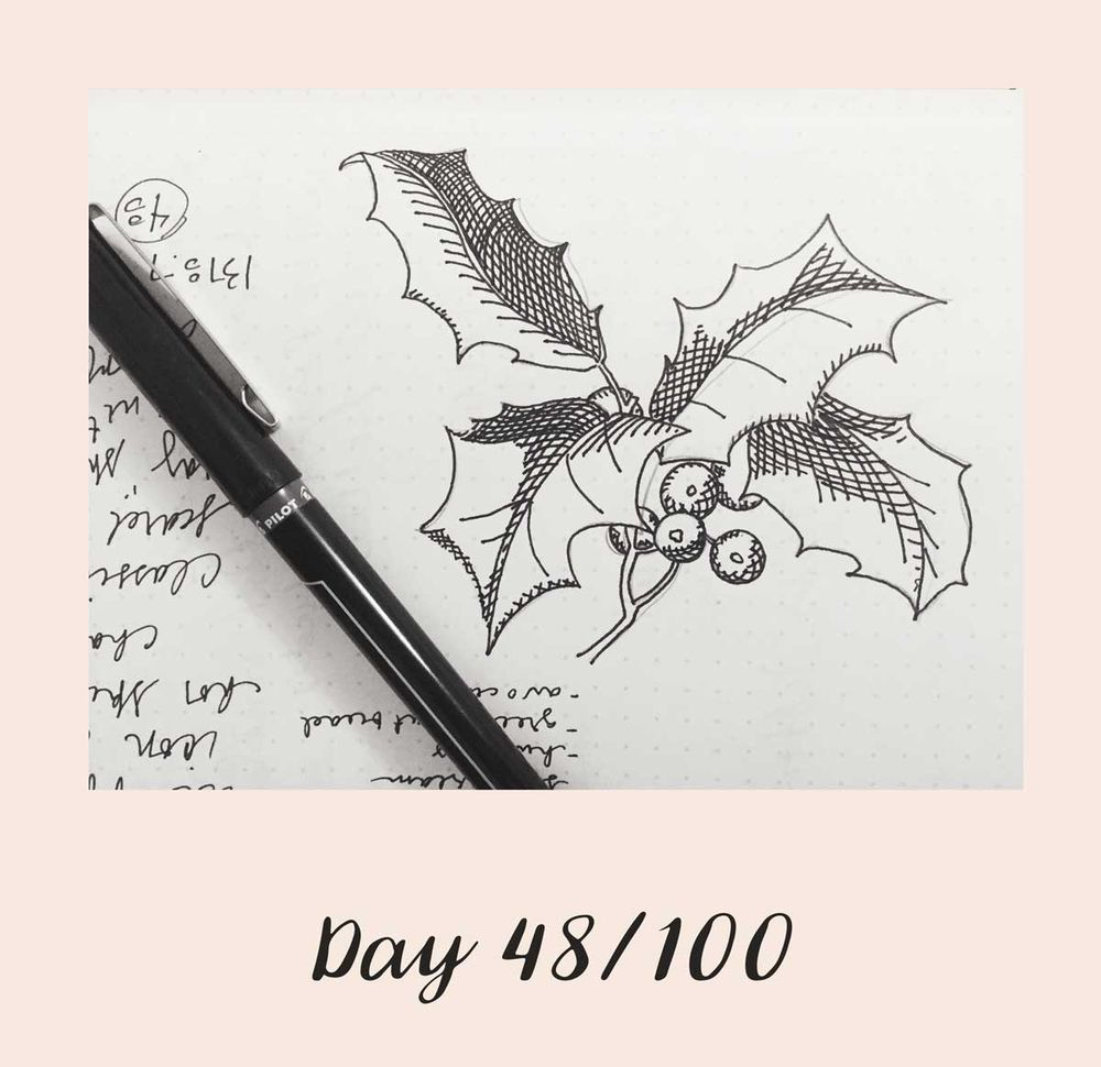 *COMPLETE* 100 Days of Sketching (Updated March 10th, Day 100/100) - image 42 - student project