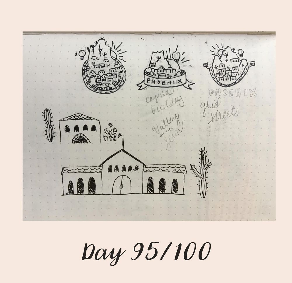 *COMPLETE* 100 Days of Sketching (Updated March 10th, Day 100/100) - image 114 - student project