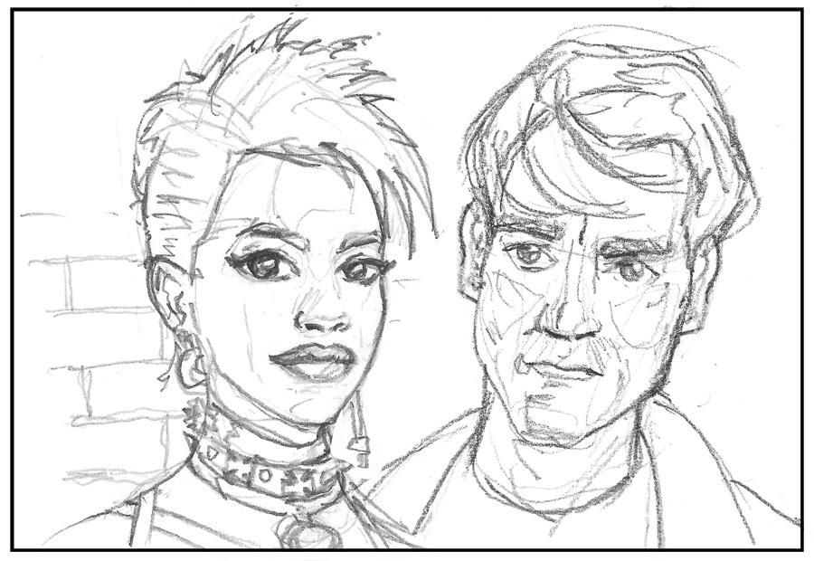 Gail and Dwight - Sin City - image 4 - student project