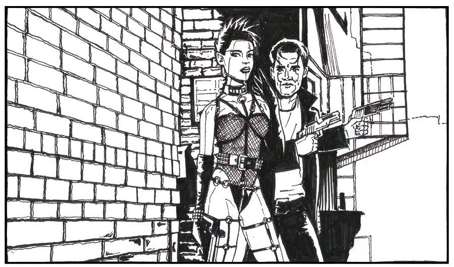 Gail and Dwight - Sin City - image 9 - student project