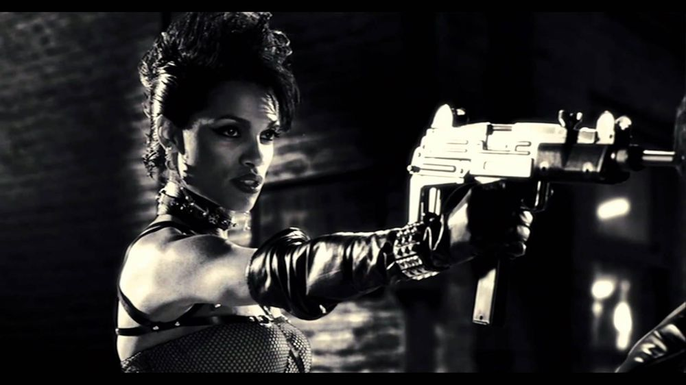 Gail and Dwight - Sin City - image 3 - student project