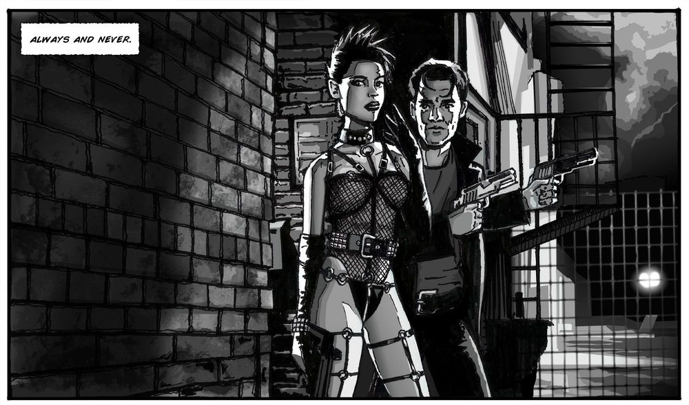 Gail and Dwight - Sin City - image 10 - student project