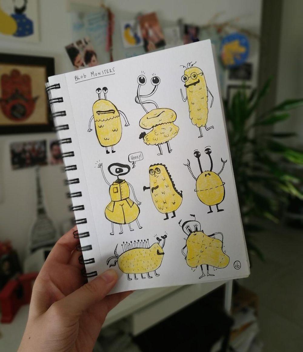 Sketchbook Lover - in progress :) - image 1 - student project