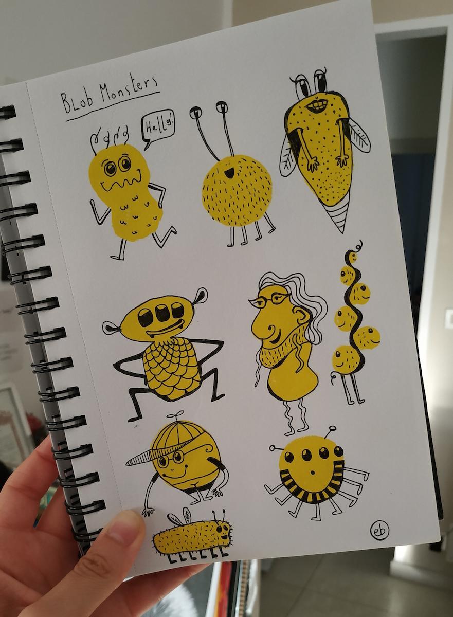 Sketchbook Lover - in progress :) - image 2 - student project