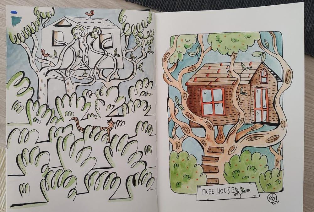 Sketchbook Lover - in progress :) - image 6 - student project